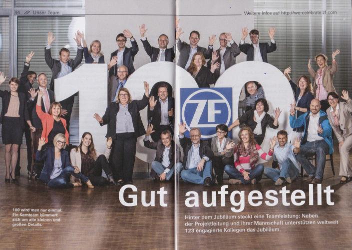 ZF ist 100