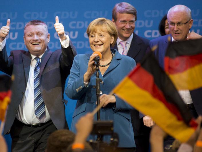 CDU Bundestagswahlkampf 2013
