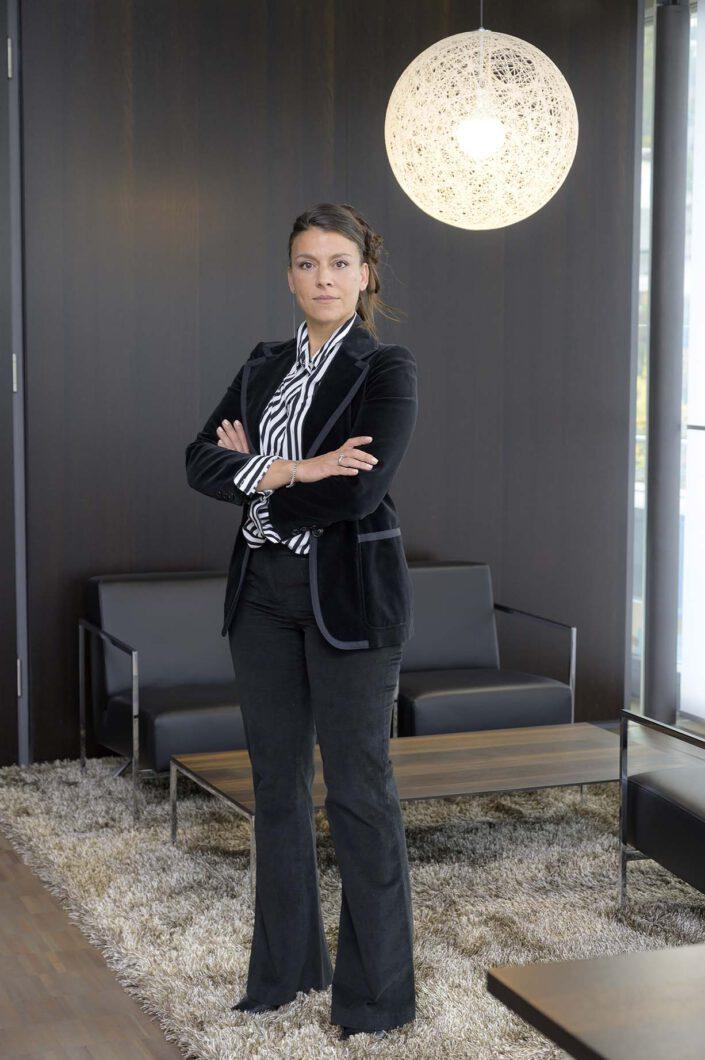 Europlac - Echtholzfurnierte Produkte, Geschäftsführerin Marina Röhr