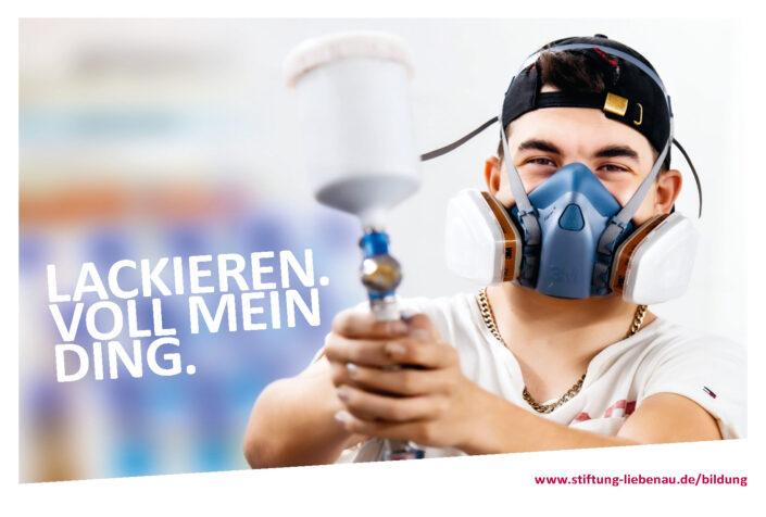 Stiftung-Liebenau Werbekampagne für Ausbildungsberuf am Berufsbildungswerk